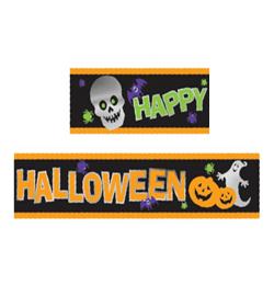 Happy Halloween Feliratú Banner - Parti Dekor - Horror Parti 8b6eddf972