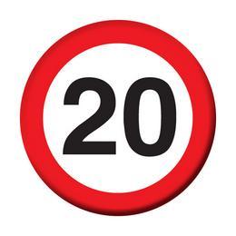 20. Szülinapi Parti Ajándék Dekorkuckó dfb2cce21b