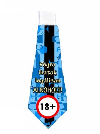 Nyakkendő 18.Születésnapra - Végre Ihatok Legálisan Alkoholt! Dekorkuckó 1104eb5f3c
