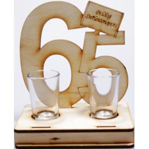 65 születésnapra idézetek Pálinkás Pohár Szett 65. Szülinapra/Dekorkuckó
