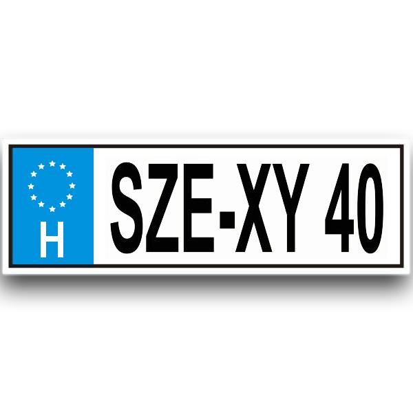 sze-xy 40 rendszam trefas ajandek dekorkucko c3121027cd